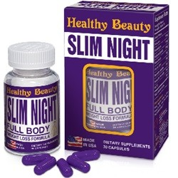 SLIM NIGHT - HEALTHY BEAUTY